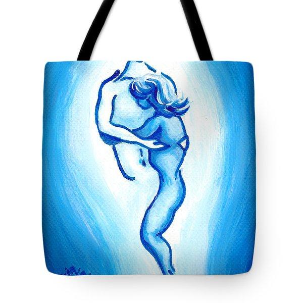 Comfort In Blue Tote Bag