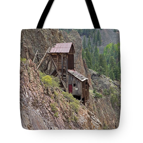 Commodore Mine On The Bachelor Historic Tour Tote Bag