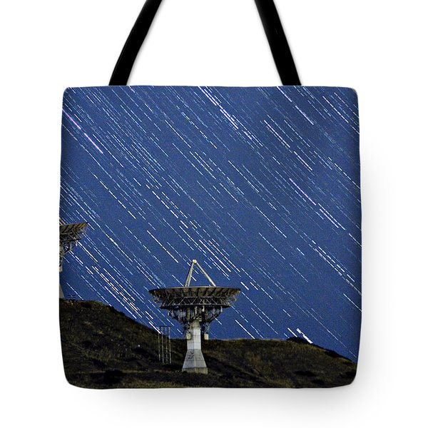 Communications To The Stars Tote Bag by James BO  Insogna