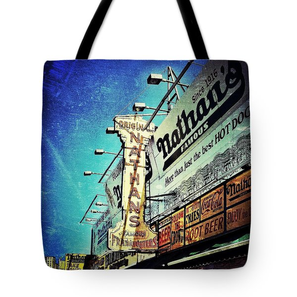 Coney Island Grub Tote Bag
