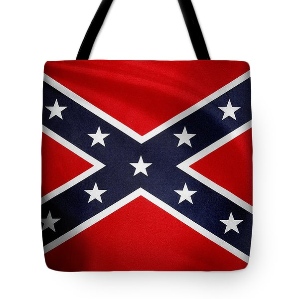 Confederate Flag 5 Tote Bag