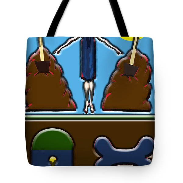 Conflict Of Interest Tote Bag by Patrick J Murphy