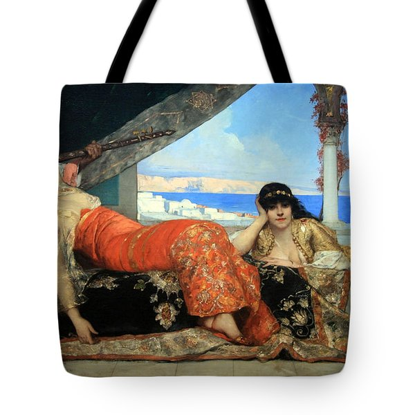 Constant's The Favorite Of The Emir Tote Bag by Cora Wandel