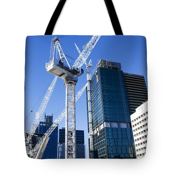 Construction City Tote Bag