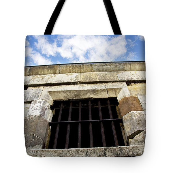 Convict Cell Tote Bag