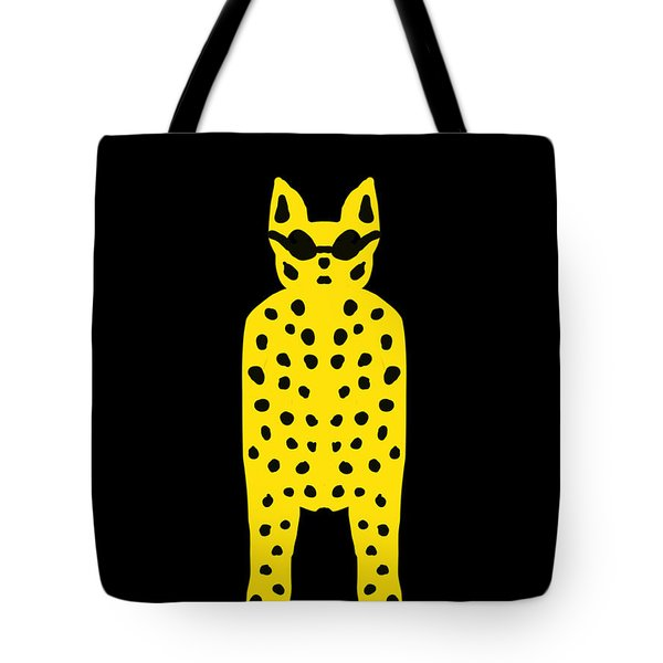 Simply Cool For Cats  Tote Bag