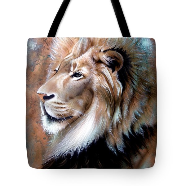 Copper King - Lion Tote Bag