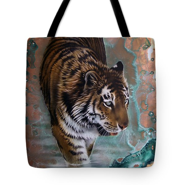 Copper Tiger I  Tote Bag