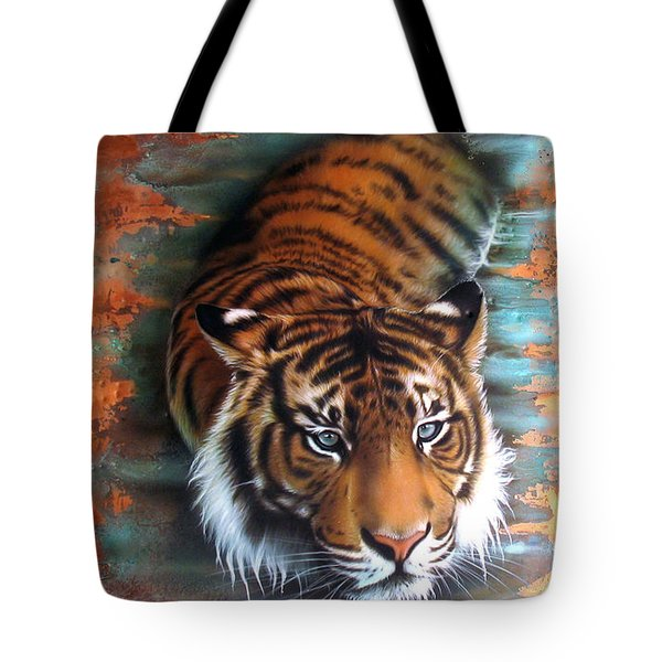 Copper Tiger II Tote Bag