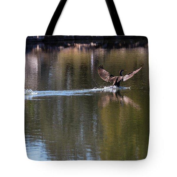Cormorant Landing Tote Bag