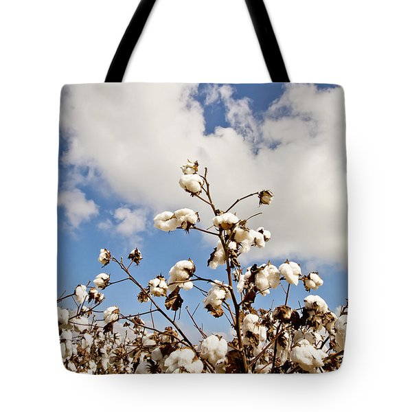 Cotton In The Sky Tote Bag