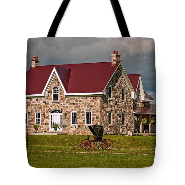 Country Living Tote Bag by Steve Harrington