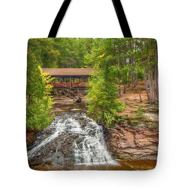 Covered Bridge Tote Bag by Paul Freidlund