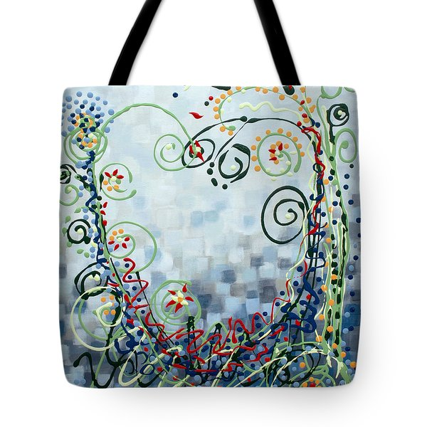Crazy Love Jazz Tote Bag by Holly Carmichael