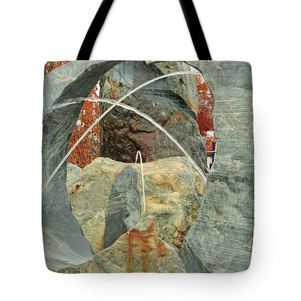 Crossing Paths II Tote Bag