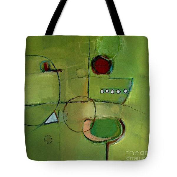 Tote Bag featuring the painting Cruising by Michelle Abrams