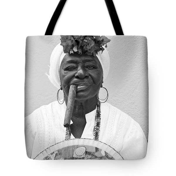 Cuban Lady Tote Bag