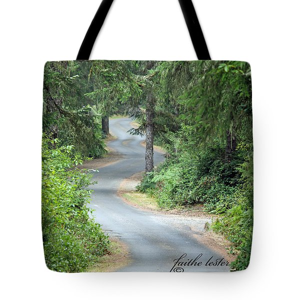 Curves Into Leadbetter Point State Park II Tote Bag
