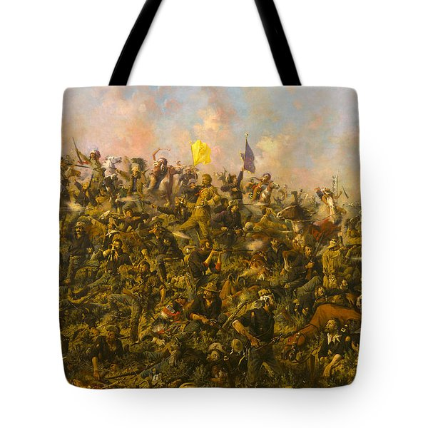 Custers Last Stand Tote Bag