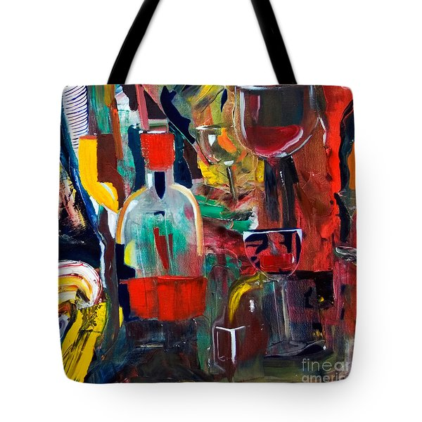 Cut IIi Wine Woman And Music Tote Bag