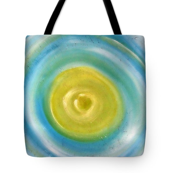 Tote Bag featuring the painting Cy Lantyca 4 by Cyryn Fyrcyd