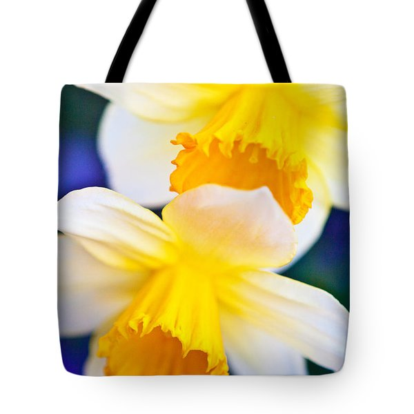 Tote Bag featuring the photograph Daffodils by Roselynne Broussard