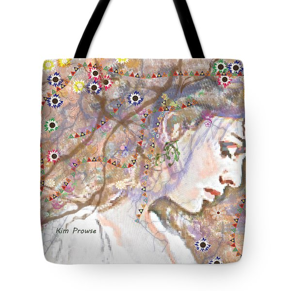 Daisy Chain Tote Bag by Kim Prowse