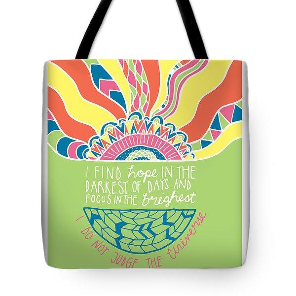 Dalai Lama Quote Tote Bag by Susan Claire