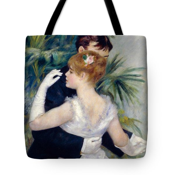 Dance In The City Tote Bag