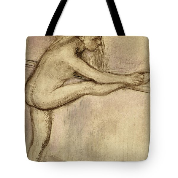 Dancer At The Bar Tote Bag