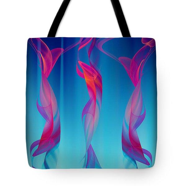 Dancers Tote Bag by Klara Acel