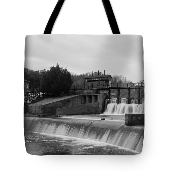 Daniel Pratt Cotton Mill Dam Prattville Alabama Tote Bag