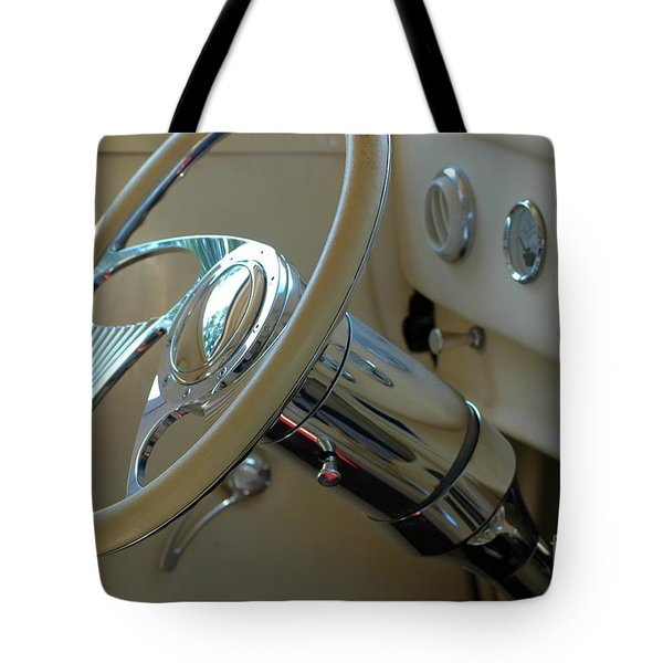 Tote Bag featuring the photograph Dashboard Glam by Christiane Hellner-OBrien