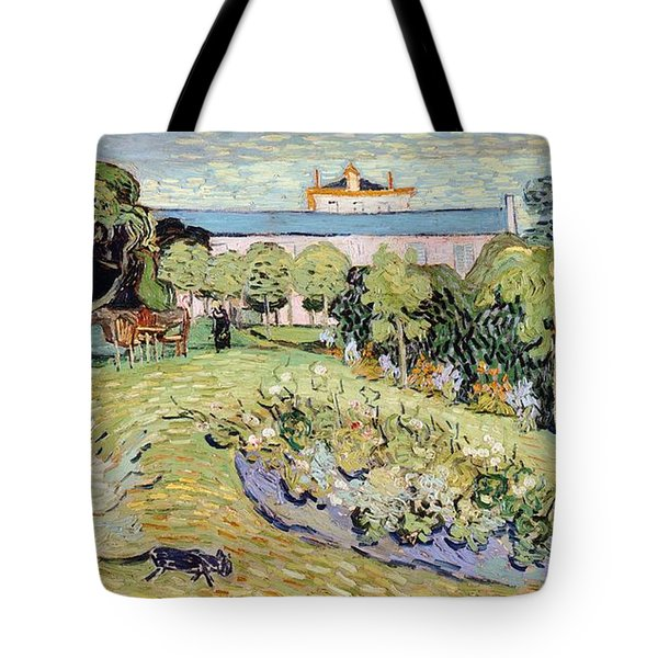 Daubigny's Garden Tote Bag by Vincent van Gogh