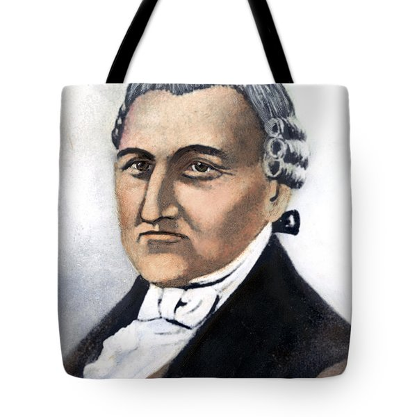 Tote Bag featuring the painting David Brearley (1745-1790) by Granger