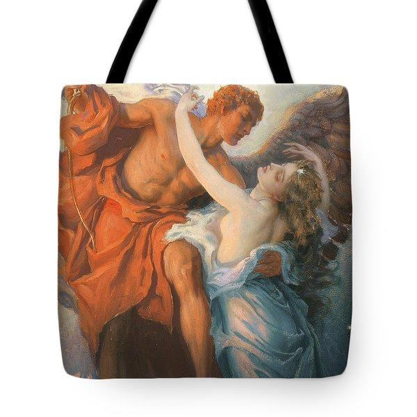 Day And The Dawnstar Tote Bag by Herbert James Draper