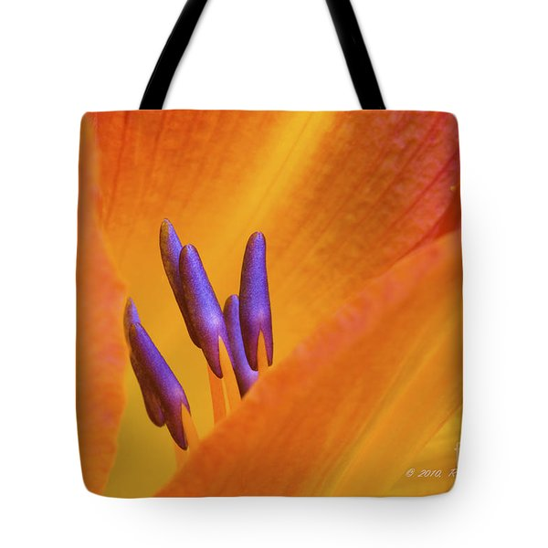 Day Lily  2 Tote Bag