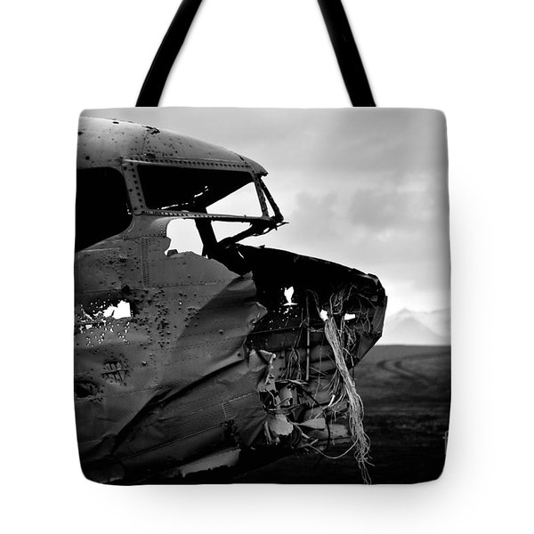 Tote Bag featuring the photograph Dc 3 Iceland by Gunnar Orn Arnason