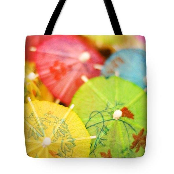 Decorative Umbrellas Tote Bag
