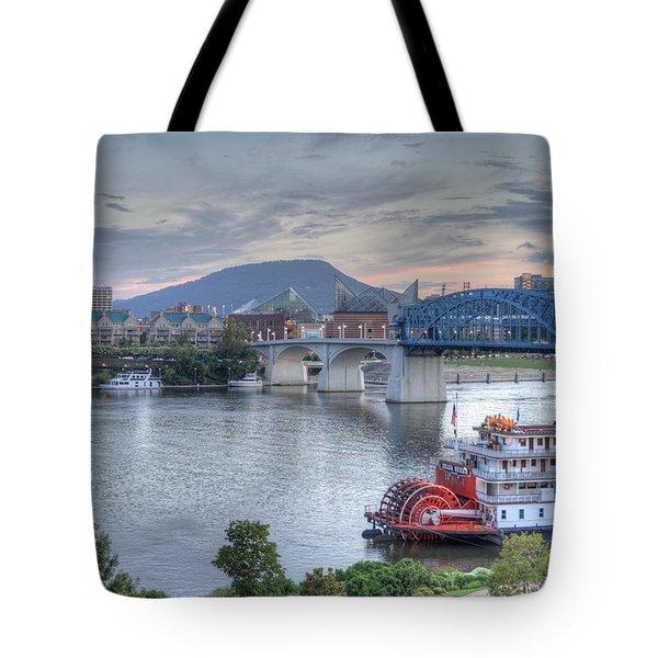 Delta Queen Tote Bag by David Troxel