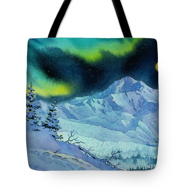 Denali Night Tote Bag