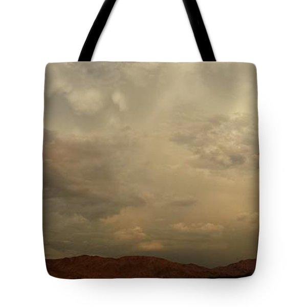 Desert Storm Tote Bag by Chris Tarpening