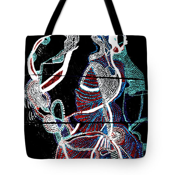 Tote Bag featuring the painting Dinka by Gloria Ssali