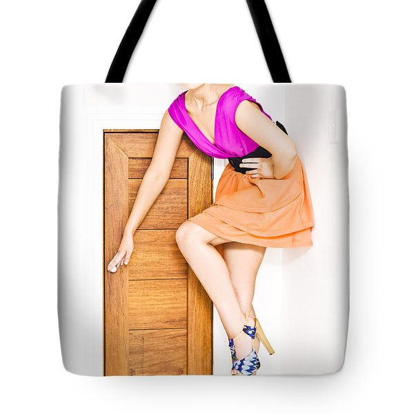 Door To Fashion Stardom Tote Bag
