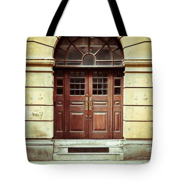 Double Door Tote Bag by Tom Gowanlock
