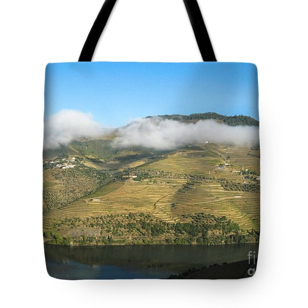 Tote Bag featuring the photograph Douro River Valley by Arlene Carmel