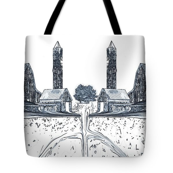 Down On The Farm Tote Bag by Dan Sproul