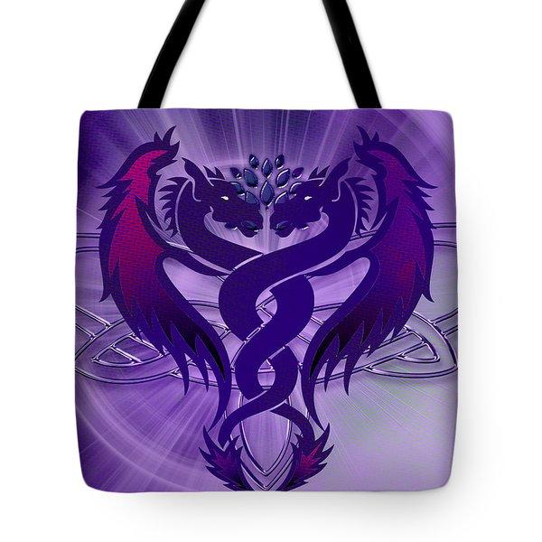 Dragon Duel Series 4 Tote Bag