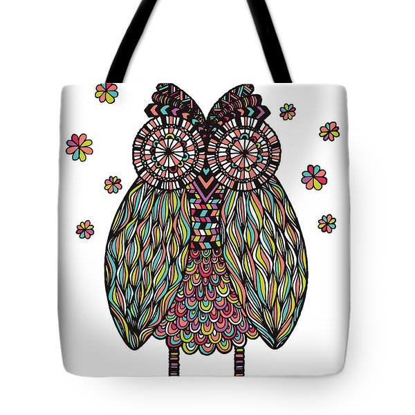 Dream Owl Tote Bag by Susan Claire