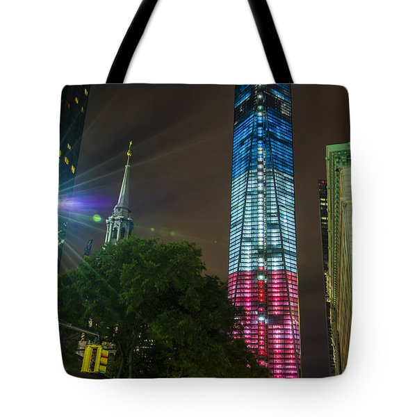 Dressed For The 4th Of July Tote Bag by Theodore Jones